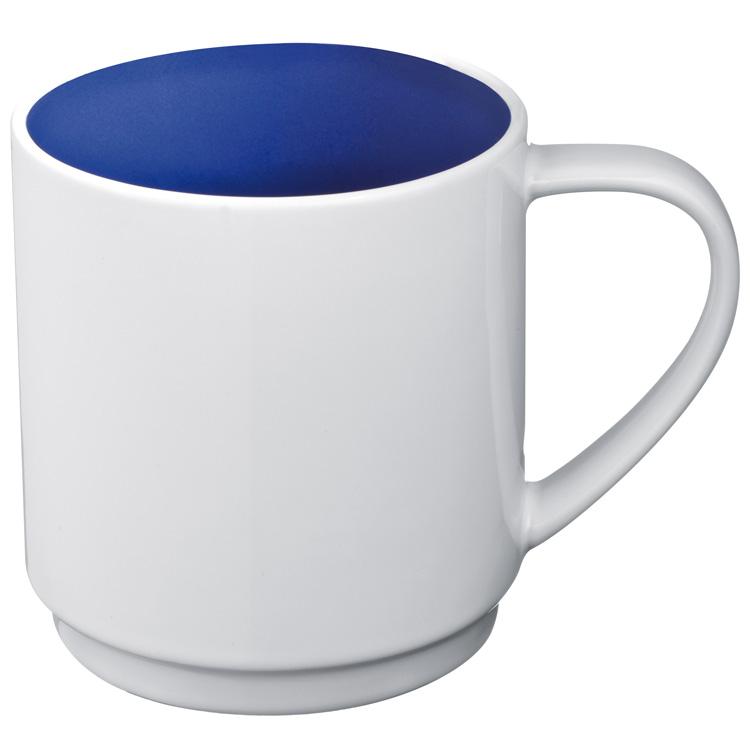 Kupić Kubek ceramiczny `Lockport`, kolor niebieski