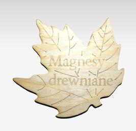 Kupić Magnesy drewniane