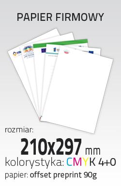Kupić Papier firmowy (PRT-PAP-FIRM-A4)