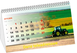Kupić Kalendarz biurkowy spiralowany (PRT-KAL-BIUR-SPIR)