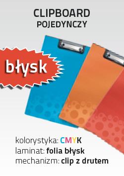 Kupić Clipboard pojedynczy błysk (PRT-CLIP-B4-BL)