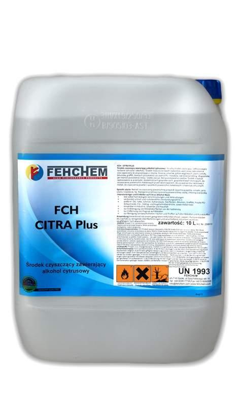 FCH – CITRA Plus  na bazie Bio-alkoholu z cytrusów