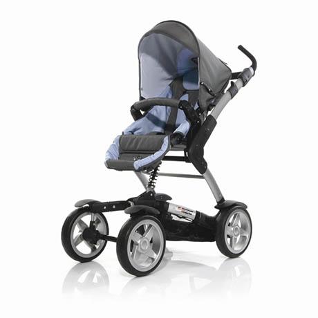 Kupić Wózek spacerowo-głęboki ABC 4-TEC Coral Blue