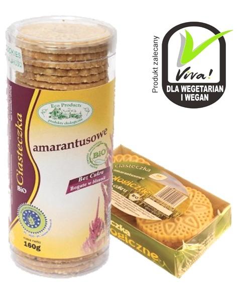 Kupić Ciasteczka Eko crunchy amarantusowe