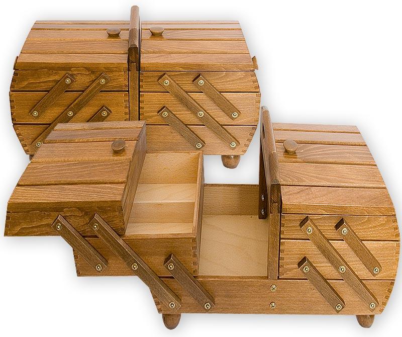 Kupić Drewniana skrzyneczka na różne przybory