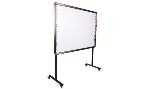 """Kupić Tablica interaktywna NIVISS iBoard NIB-73, 73"""", wymiar tablicy: 1634x1290x45mm, powierzchnia aktywna 1469x1145mm, ze stojakiem na kółkach do tablicy"""
