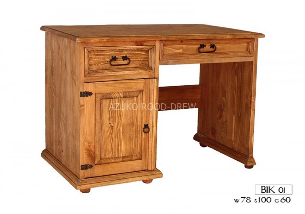 Kupić Biurko drewniane sosnowe Bik 01