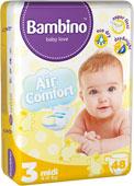 Kupić Pieluchy Bambino Midi 48