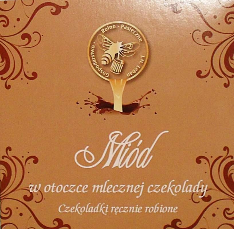 Kupić Miód w otoczce mlecznej czekolady