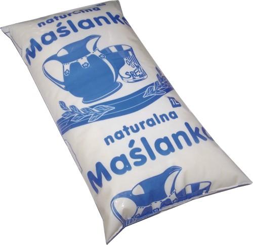 Kupić Maślanka naturalna folia 1 litr