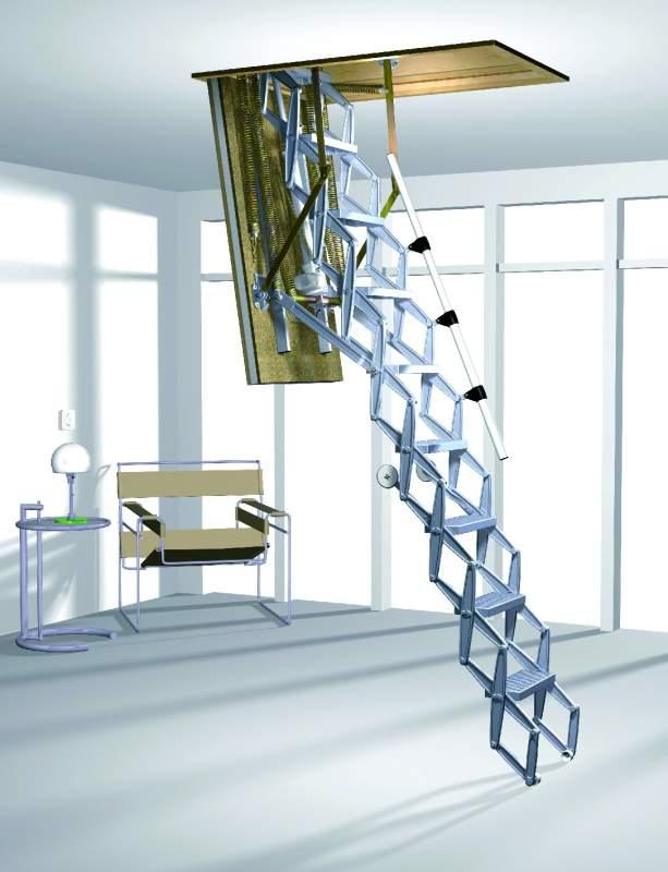 Kupić Nożycowe schody strychowe Roto Elektro