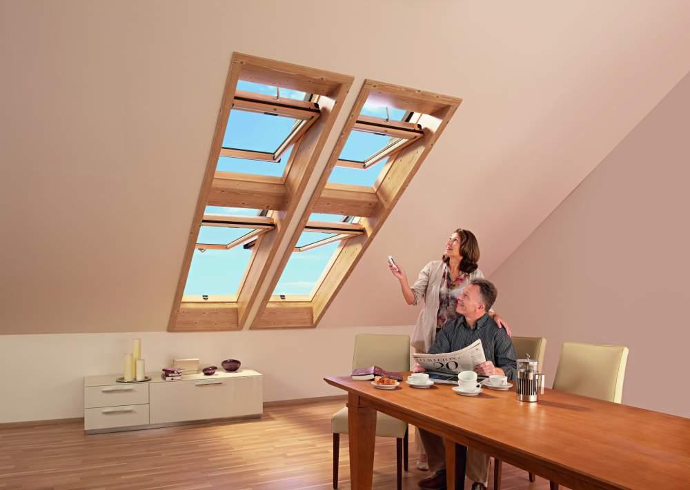 Kupić Zdalnie sterowane okna obrotowe Designo R4/R6