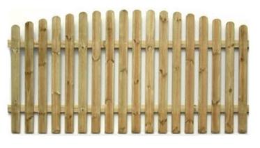 Kupić Ogrodzenia drewniane jednolite.