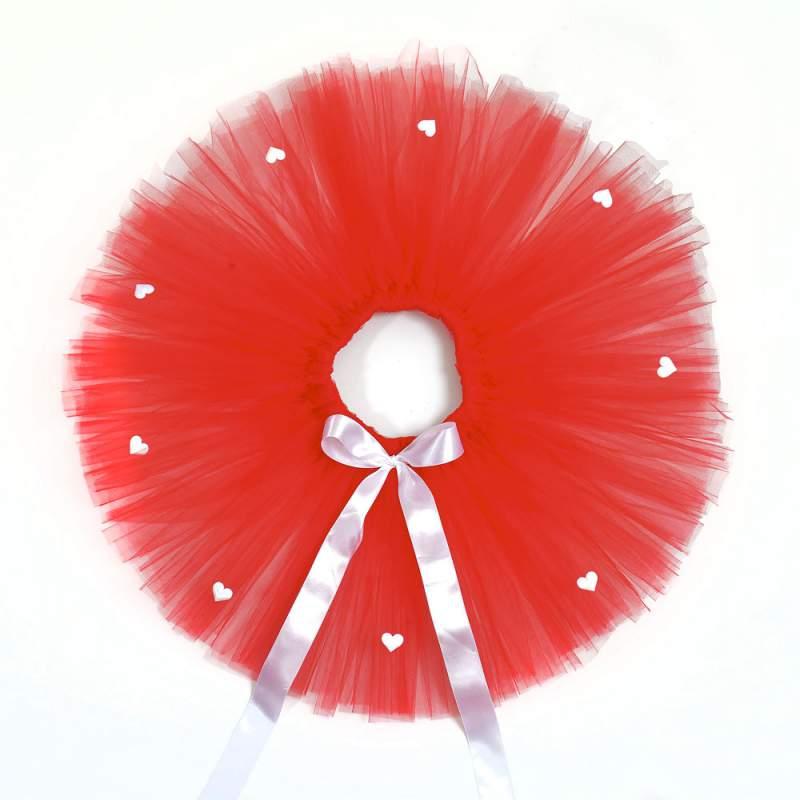 ee19ea90 TUTU Princess - czerwona spódniczka z tiulu SERDUSZKA