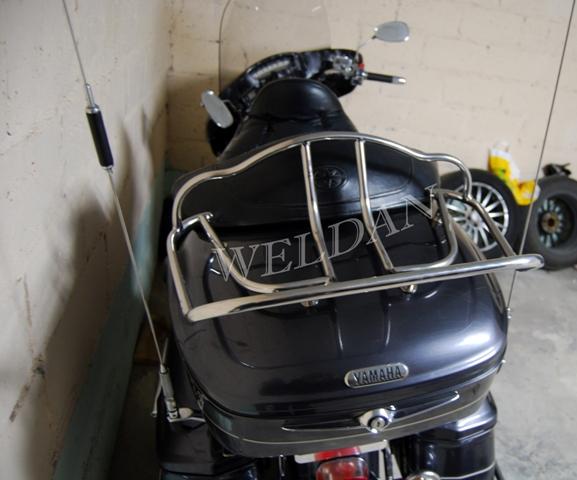 Kupić Bagażniki do motocykli stal nierdzewna