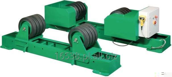 Kupić Obrotniki rolkowe KISTLER do obracania spawanych elementów o kształtach okrągłych, podczas spawania w trybie ręcznym lub automatycznym.