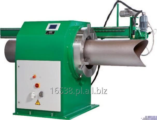 Kupić Maszyna KISTLER SCM do cięcia profilowego rur obsługująca cięcie rur palnikiem plazmowym lub acetylenowo-tlenowym.