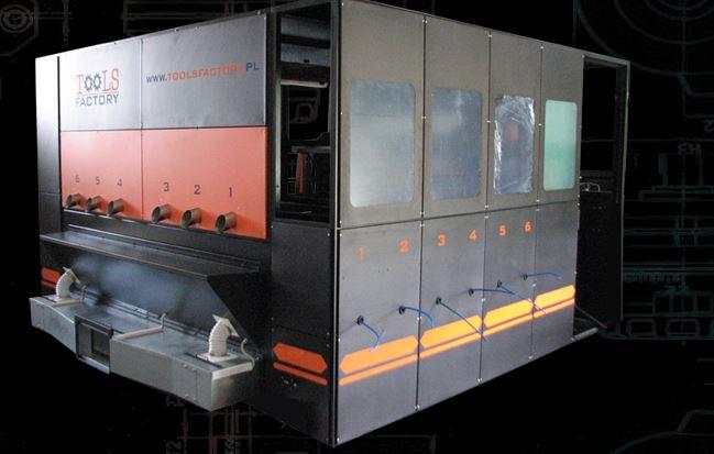Kupić Linia technologiczna do lakierowania elementów z MDF, linie technologiczne lakiernicze