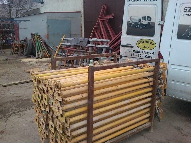 Kupić Podpory budowlane, stemple metalowe 3 metrowe STAN IDEALNY