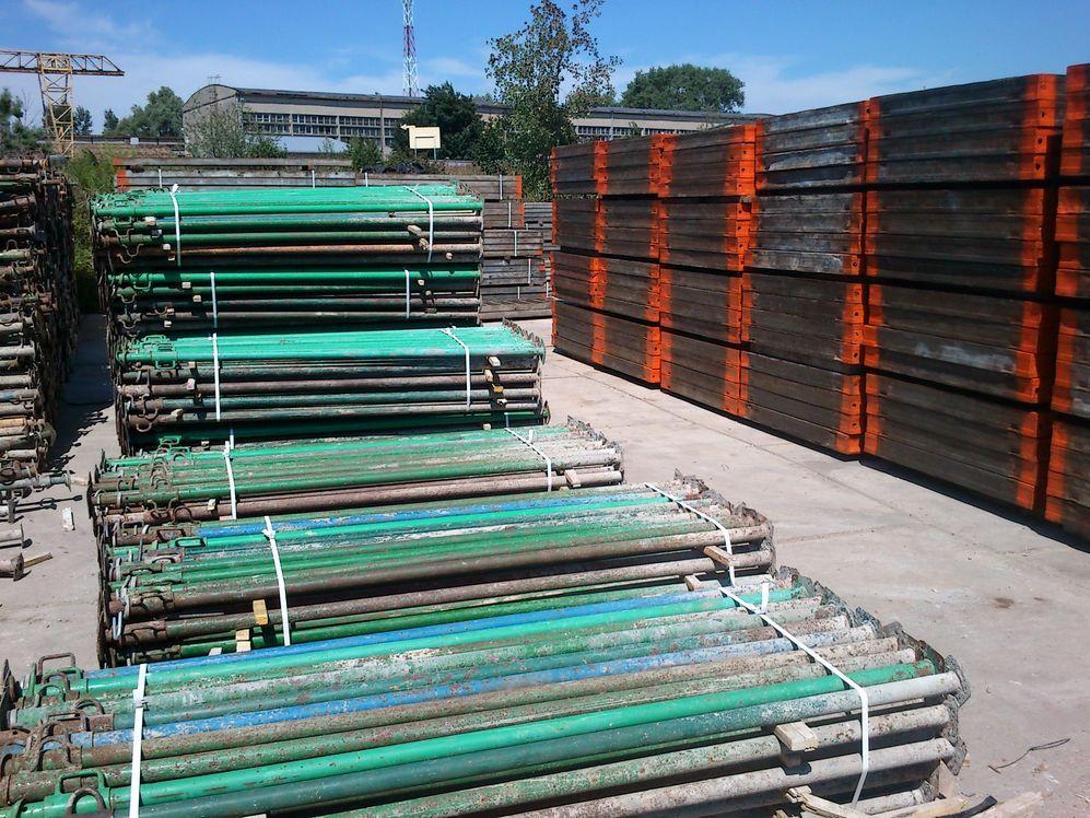 Kupić Stemple budowlane, podpory metalowe 3 i 4-metrowe