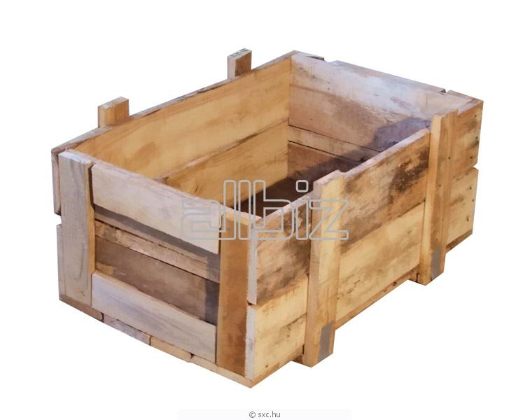 Kupić Opakowania drewniane różne