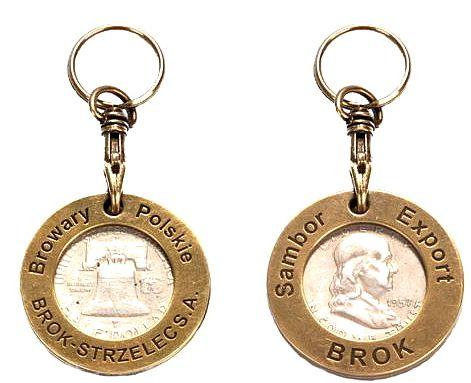 Kupić Brelok do kluczy z żetonem