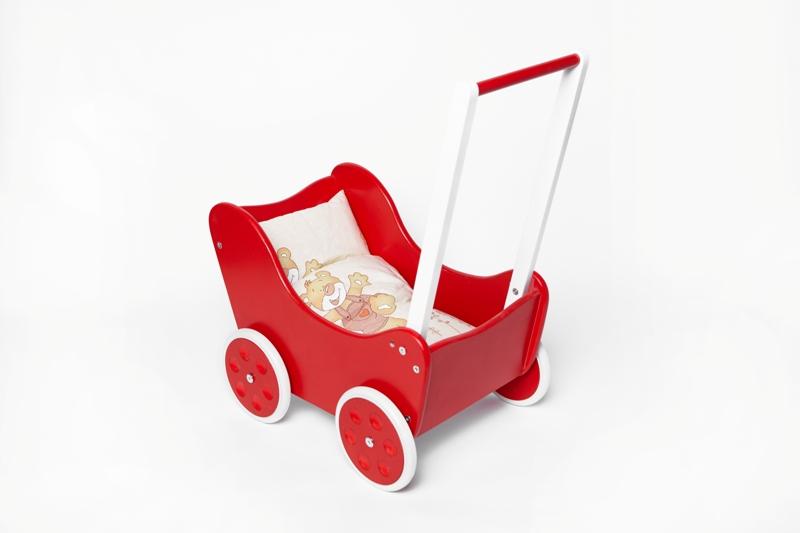 Kupić Drewniany wózek dla lalek