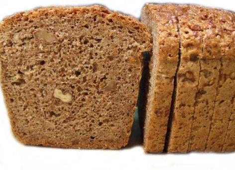 Kupić Chleb pełnoziarnisty z dodatkiem świeżych orzechów ziemnych i włoskich