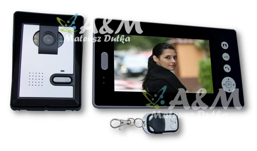 Kupić AM-701 - Bezprzewodowy wideodomofon 7 cali