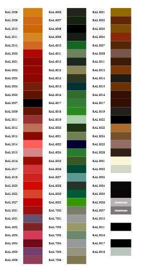 Kupić Wszystkie produkowane przez nas grzejniki możemy wykonać w dowolnej barwie z palety kolorów RAL.