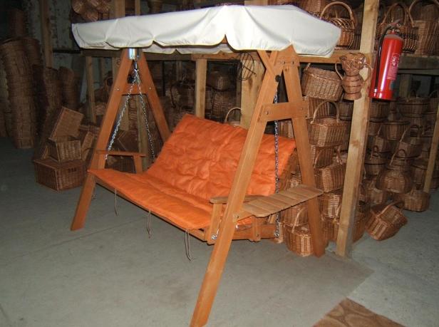 Kupić Huśtawka ogrodowa drewniana