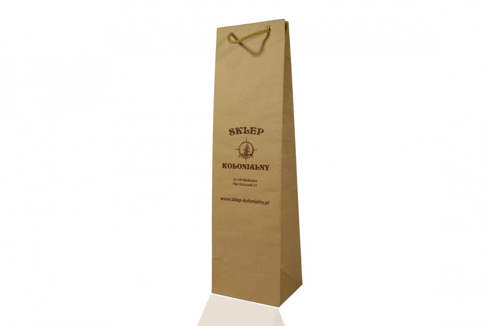 Opakowania papierowe, torby papierowe z uchwytami i bez uchwytów