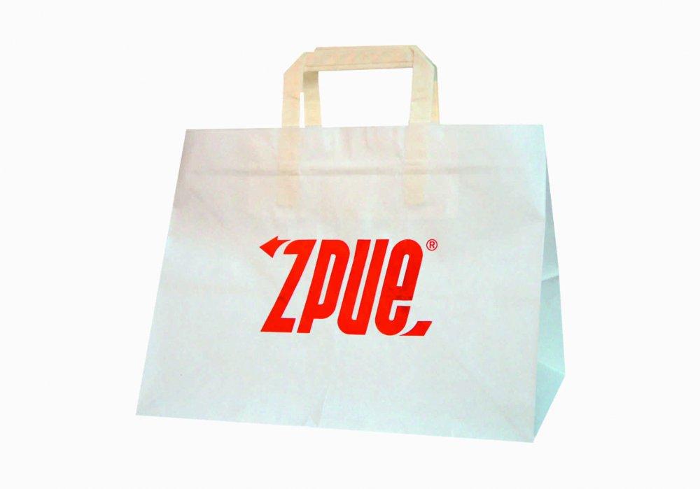 Torby papierowe do artykułów spożywczych, torby papierowe