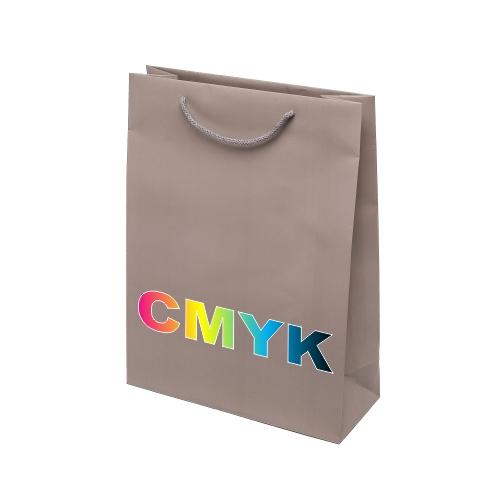 Torby papierowe z kolorowym nadrukiem, torby reklamowe, prezentowe