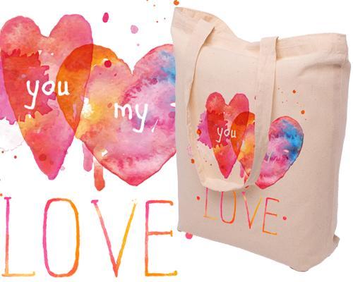 Bolsas de materiales, bolsas de yute, lino, la elección de colores