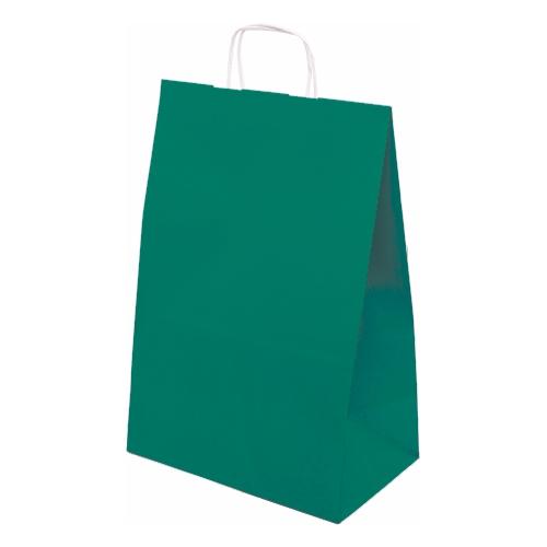 Torby do sklepów obuwniczych, odzieżowych; torby papierowe kolor i biel