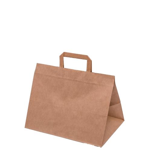 Papírzacskó, szövet, laminált, presztízs, gyapot, juta, len nyomtatás nélkül