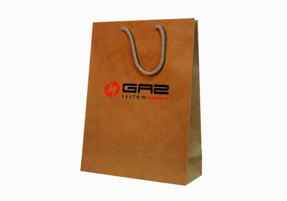 Papieren zakken met briefhoofd en logo, handtassen gekleurd, wit, ongeverfde, organische