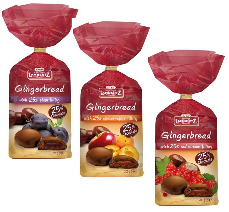 Kupić Pierniki nadziewane w czekoladzie 200g Lambertz