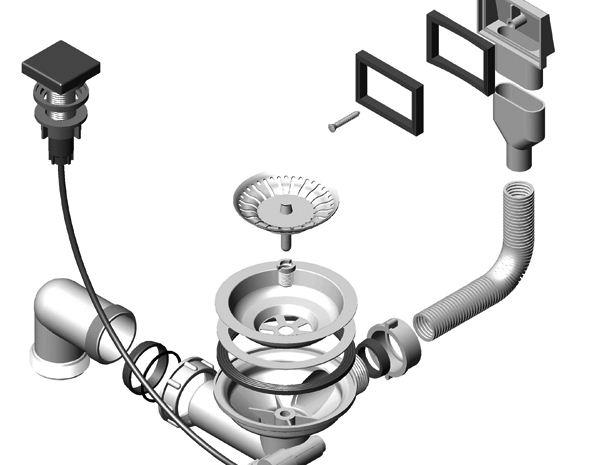 Kupić Systemy odpływowe syfon