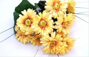 Kupić Bukiety kwiatów sztucznych, wiązanki, wieńce, sztuczne liście,