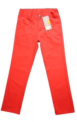 """Kupić Spodnie """"rurki """"czerwone/ Chabrowe"""