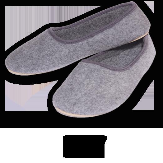 Kupić Pantofle damskie codzienne filcowe F27