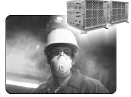 Kupić Systemy odpylania powietrza mgłą wodną, filtrowanie powietrza w przemyśle, Odpylanie hal produkcyjnych