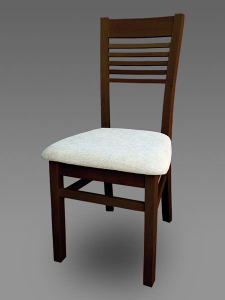 Kupić Krzesła drewniane tapicerowane.