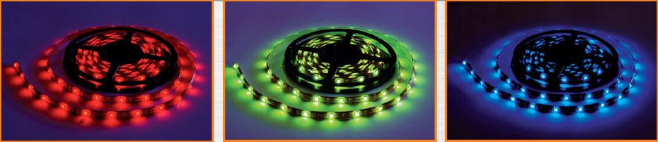 Kupić Taśmy LED różne kolory