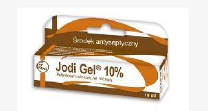 Kupić Jodi Gel 10% Povidonum iodinatum (100mg/g) żel antyseptyczny i przeciwzapalny