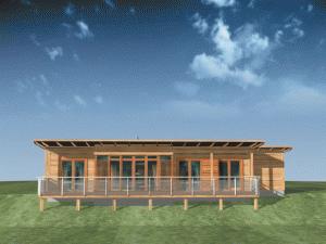 Kupić Dom z drewna Klif