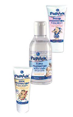 Kupić Linia kosmetyków dla niemowląt Pupilek: kremy, oliwki, emulsje pielęgnacyjne