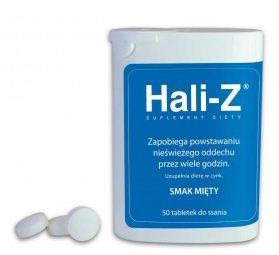 Kupić Cynk organiczny Hali-z tabletki do ssania